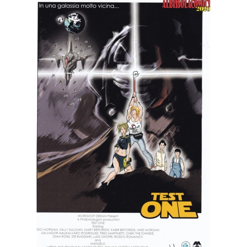 "Star Wars-Inspired ""Test One"" Limited Edition Signed Board by Andrea Modugno"