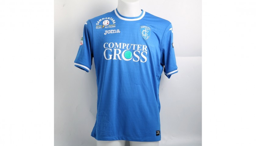 Piu's Match-Issued Shirt from Empoli-Ascoli with a Special #AiutiamoLI Patch