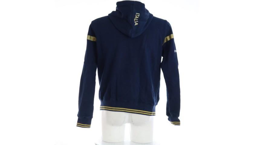 Ian McKinley's FIR Worn Sweatshirt, 2017/18