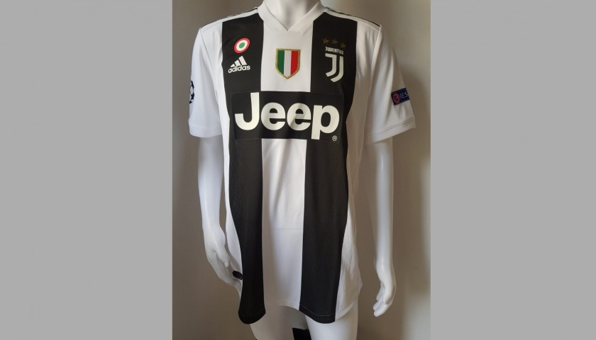 Chiellini's Juventus Worn and Signed Shirt with Dedication ...