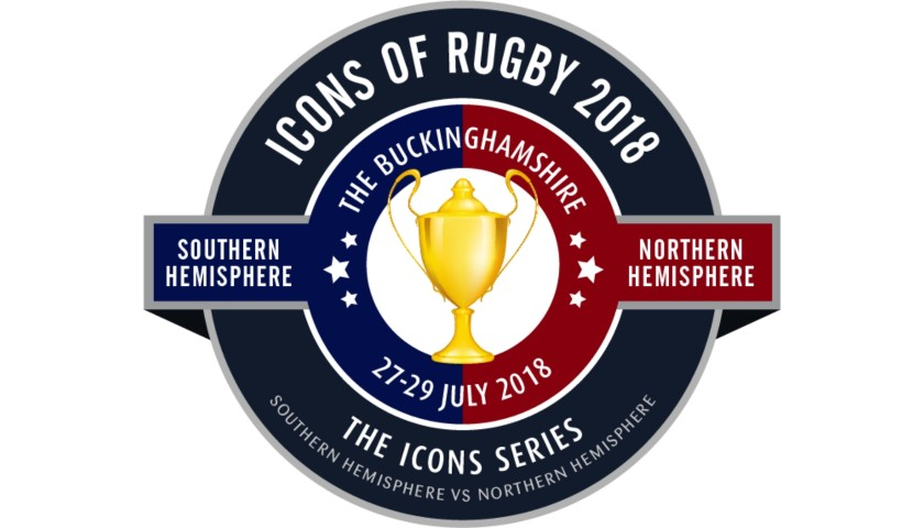 ICONS of Rugby 2018 VIP Experience for 10