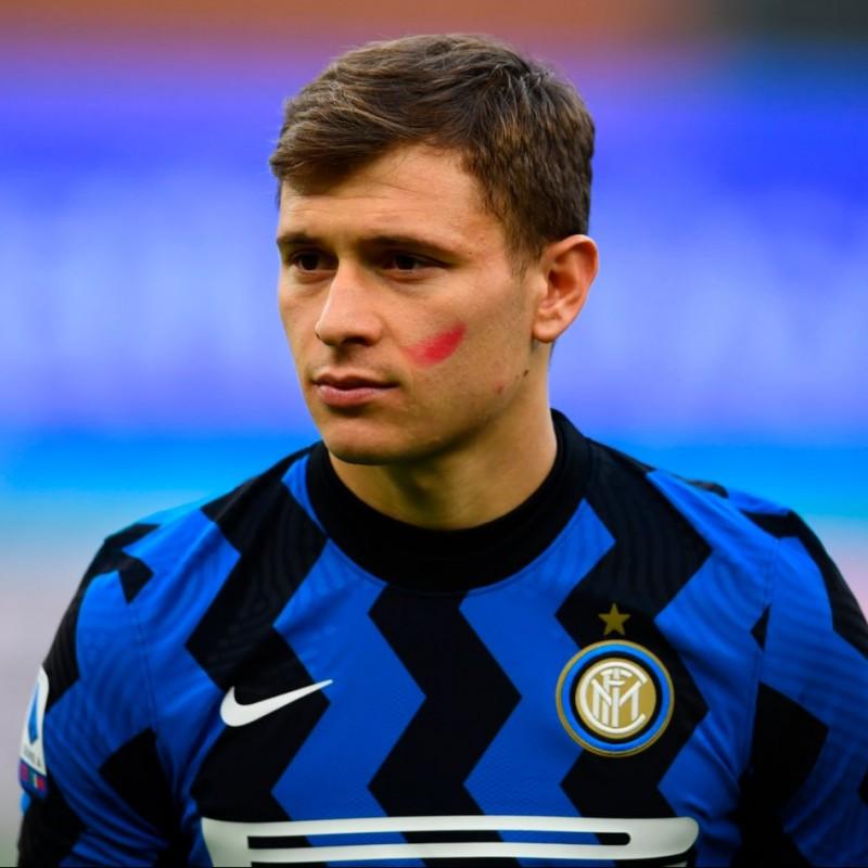 Barella's Inter Signed Match Shirt, 2020/21