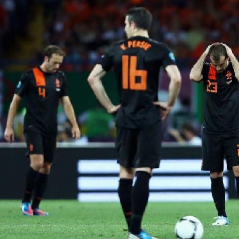 Janssen's Official Holland Signed Shirt, 2012/13