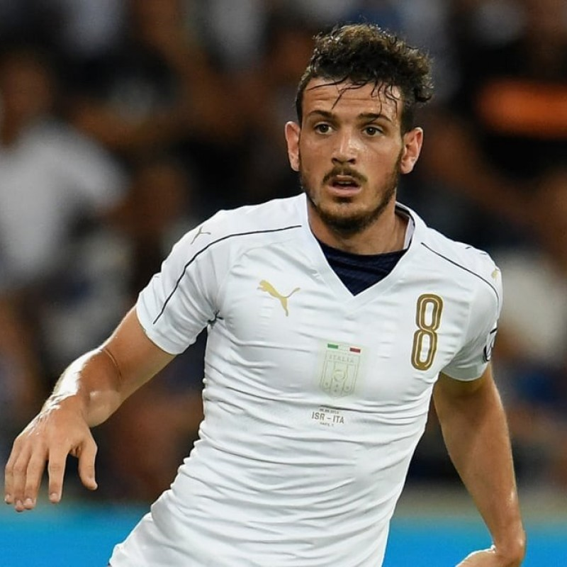Florenzi's Match-Issue/Worn Shirt, Italy-France 2016