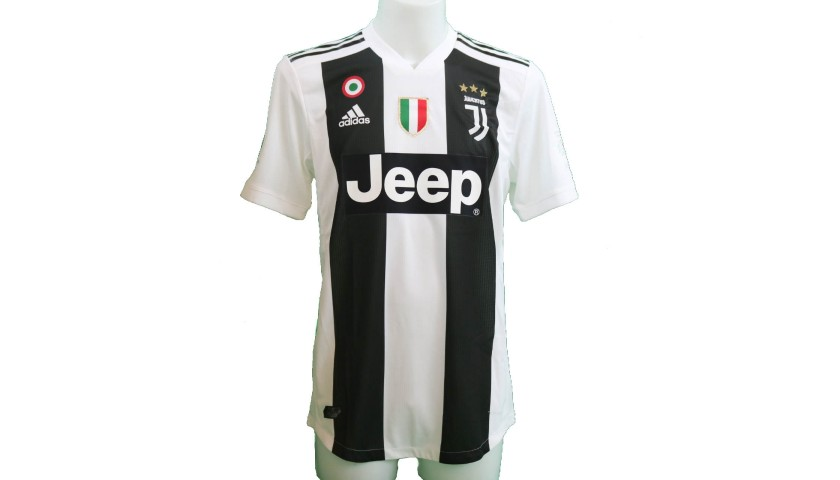 Ronaldo's Match-Issue/Worn and Signed Shirt, Supercoppa Italiana