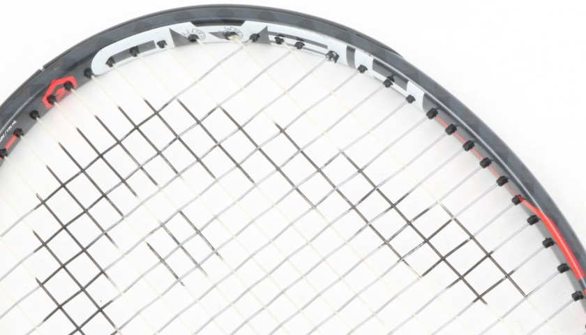 Head tennis racquet used by Marin Cilic - Signed