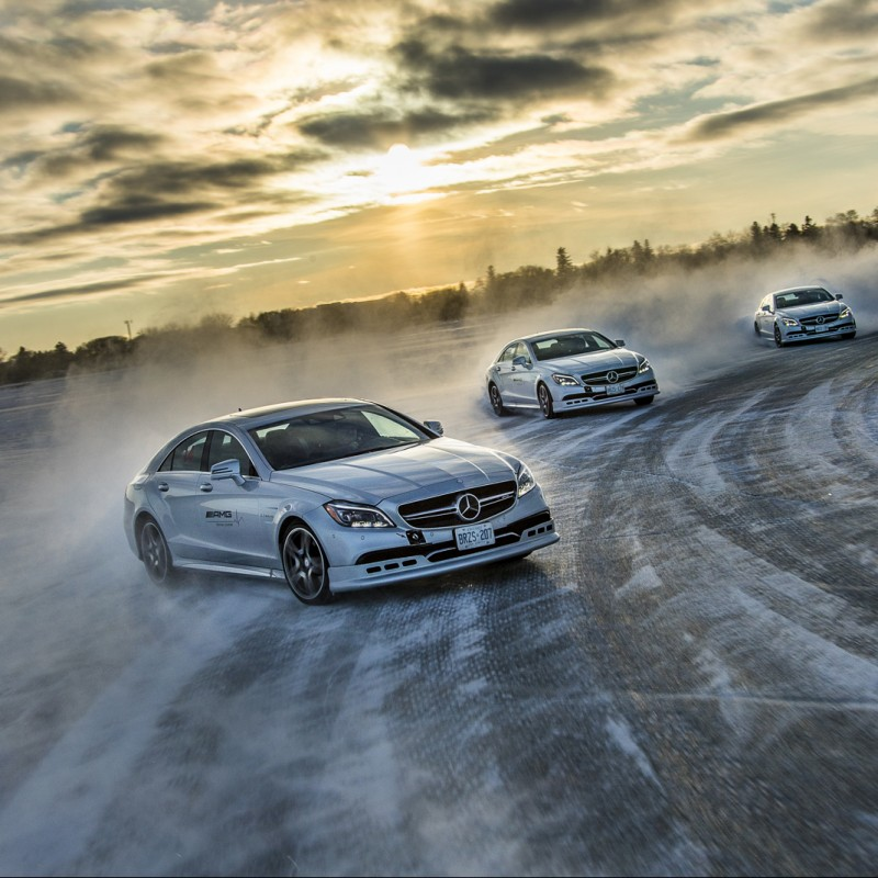 AMG Winter Sporting Driving Course