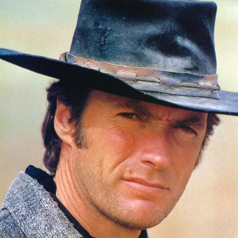 Clint Eastwood Hand Signed Baseball