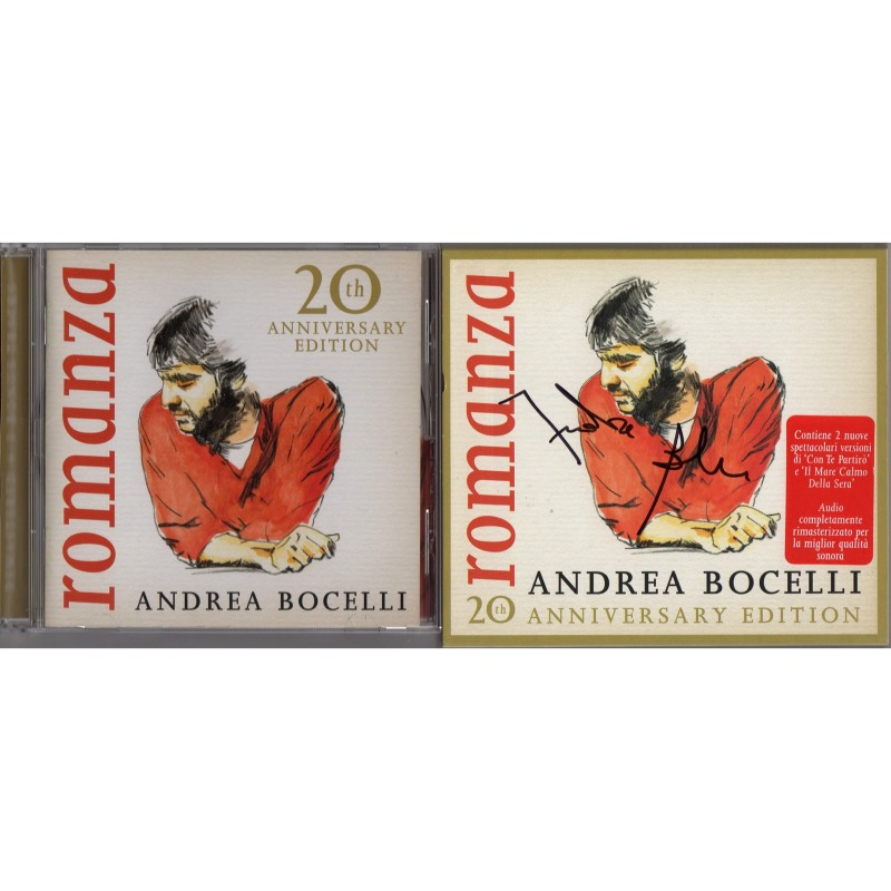 'Romanza' Album - Signed by Andrea Bocelli