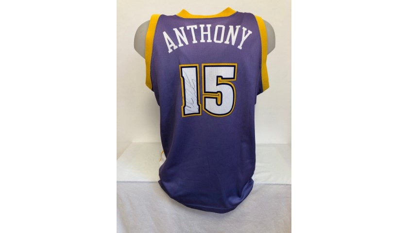 Anthony's Official Denver Nuggets Signed Jersey, 2005