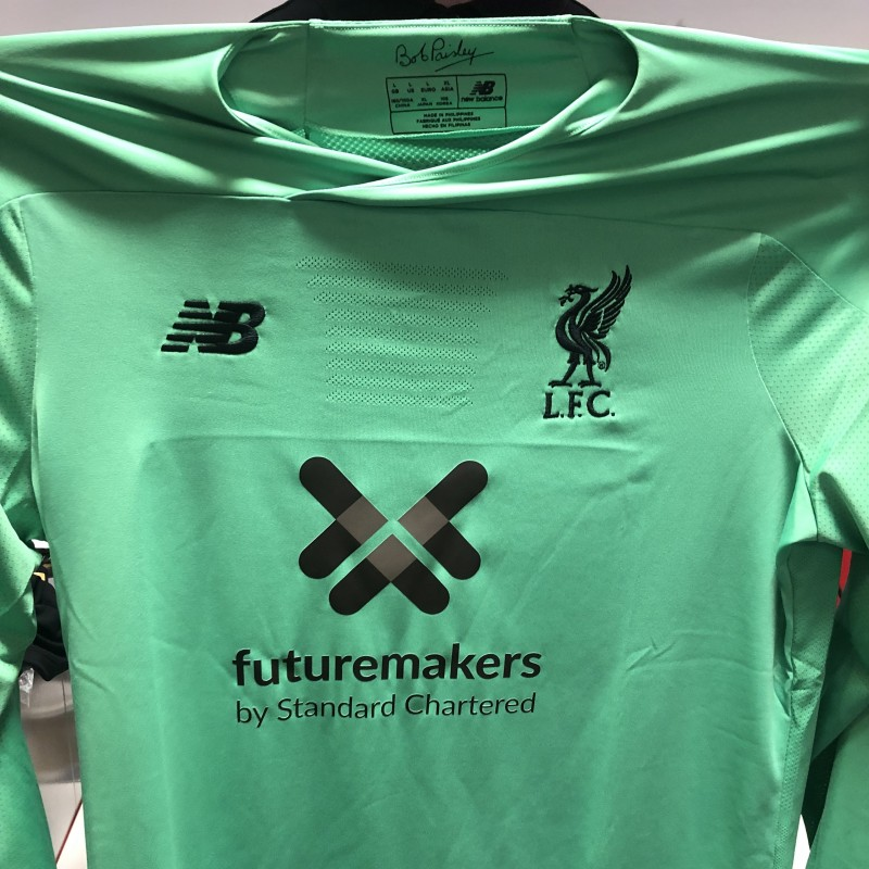 Alisson's Worn and Signed Limited Edition 19/20 Liverpool FC Shirt
