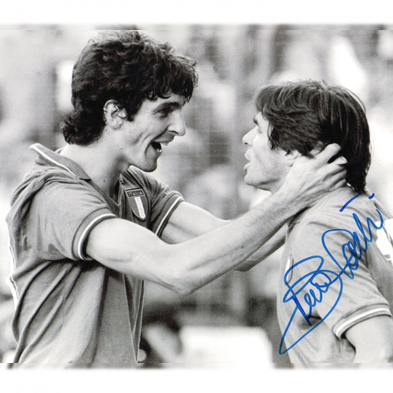 Photograph Signed by Bruno Conti