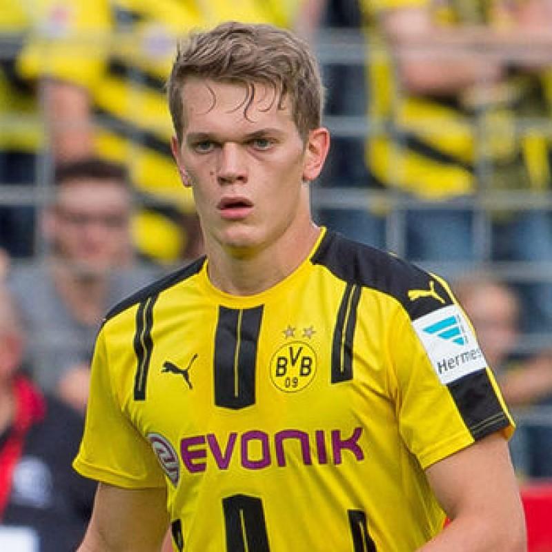 Ginter S Official Borussia Dortmund Signed Shirt 2016 17 Charitystars