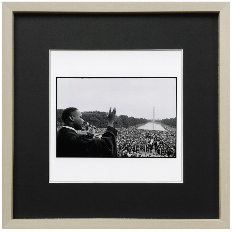"""Martin Luther King"" - Photograph by Bob Henriques"
