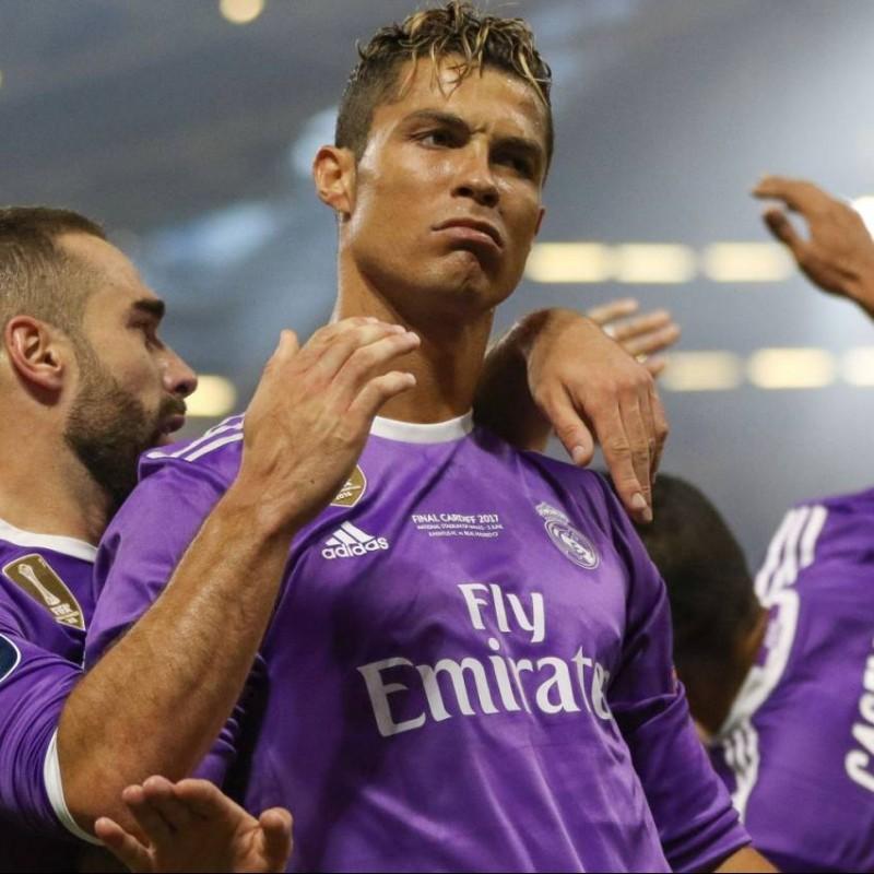 Ronaldo's Match Shirt, Cardiff Final 2017