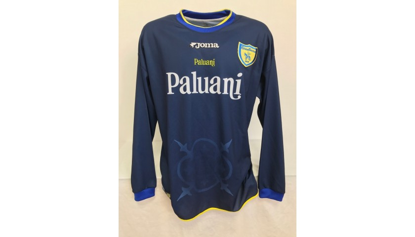 Bierhoff's Chievo Verona Signed Match Shirt, 2002/03
