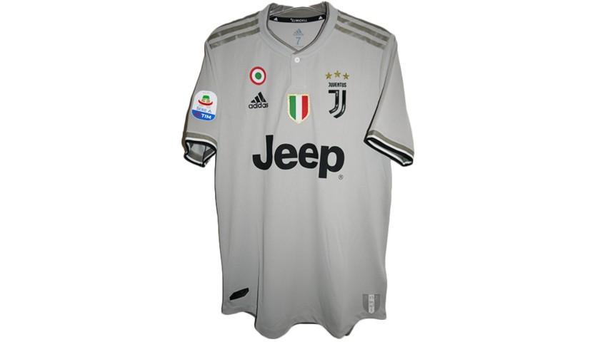 Maglia Cristiano Ronaldo Juventus, indossata Serie A 2018/19
