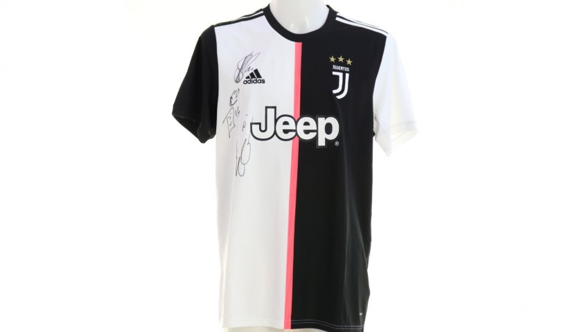 Official Juventus Shirt, 2019/20 - Signed by the Players