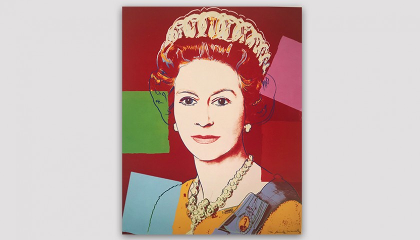 """Queen Elizabeth II 336"" by Andy Warhol"