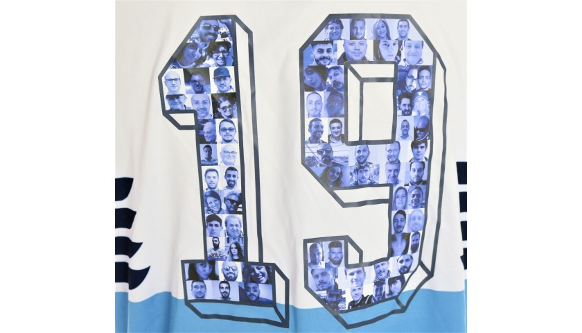 Lulic's Match Shirt, Lazio-Inter 2019 - Special Numbers