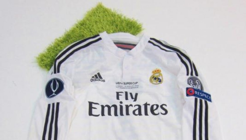 Cristiano Ronaldo issued/worn shirt, UEFA Super Cup Real Madrid vs Sevilla