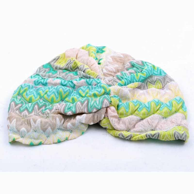 Margherita Maccapani Missoni's Multicolor Missoni Turban