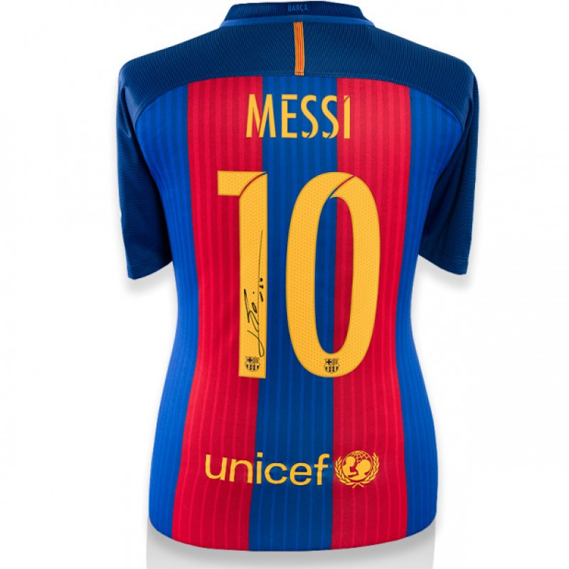 Signed Messi Barcelona  Jersey 2016/2017