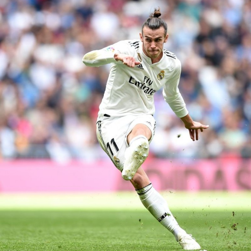 Bale's Real Madrid Match Shirt, Liga 2018/19
