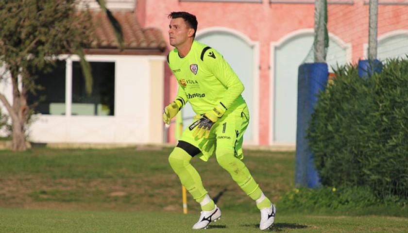 Rafael's Worn Shirt, Lazio-Cagliari 2018