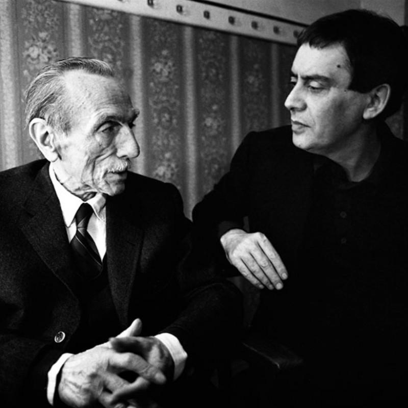 """Eduardo De Filippo and Carmelo Bene"" - Photograph by Angelo Turetta"