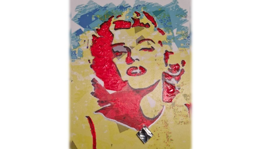 Marilyn Monroe - Unique Artwork by Gabriele Salvatore
