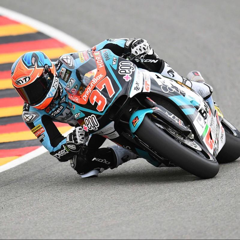 Augusto Fernandez's Signed Race Slider from Misano