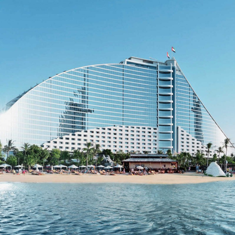 Four Nights at the 5* Jumeirah Beach Hotel Dubai for Four