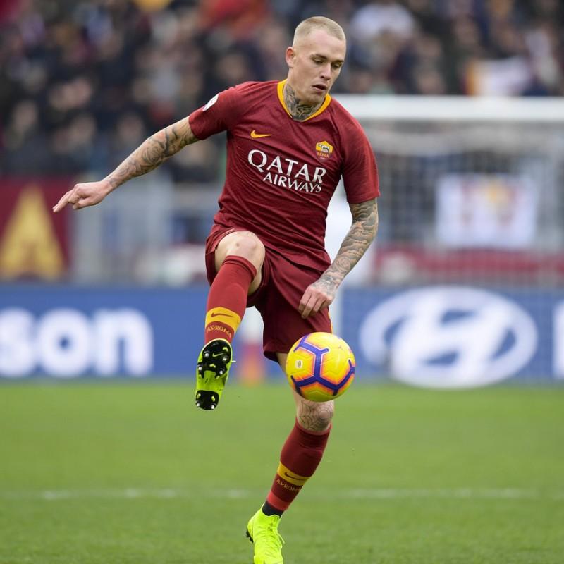 Karsdorp's Roma Match Shirt, 2018/19