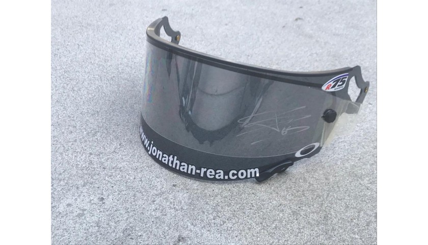 Visor Signed by Jonathan Rea at Portimao