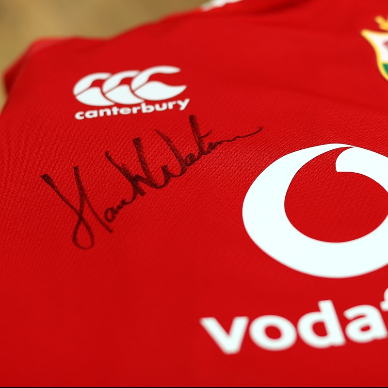Lions 2021 Test Shirt - Worn and Signed by Hamish Watson