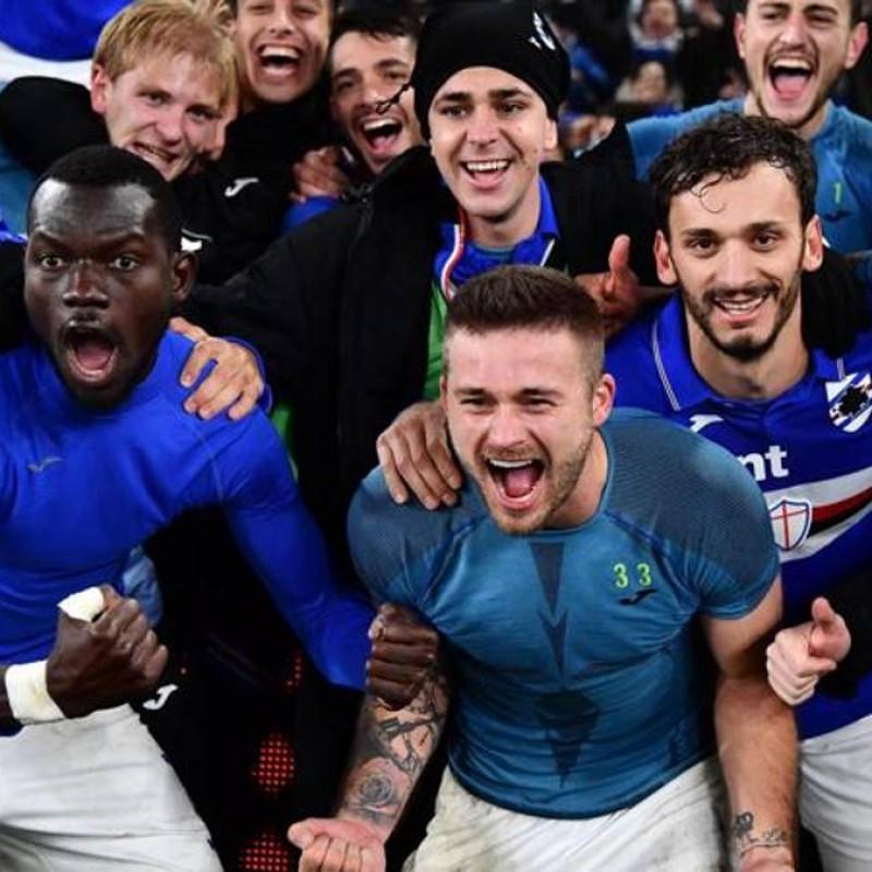 Rigoni's Worn Shirt, Genoa-Sampdoria, Special Gaslini