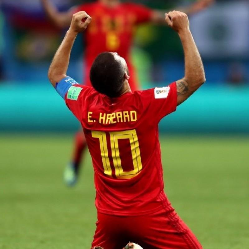 Hazard's Belgium 2018 Shirt, Signed