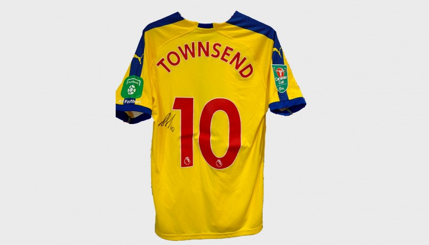 Townsend's Crystal Palace Match-Worn and Signed Shirt