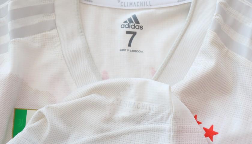 Bernardeschi's Juventus Match-Issued Shirt - Shangai Edition