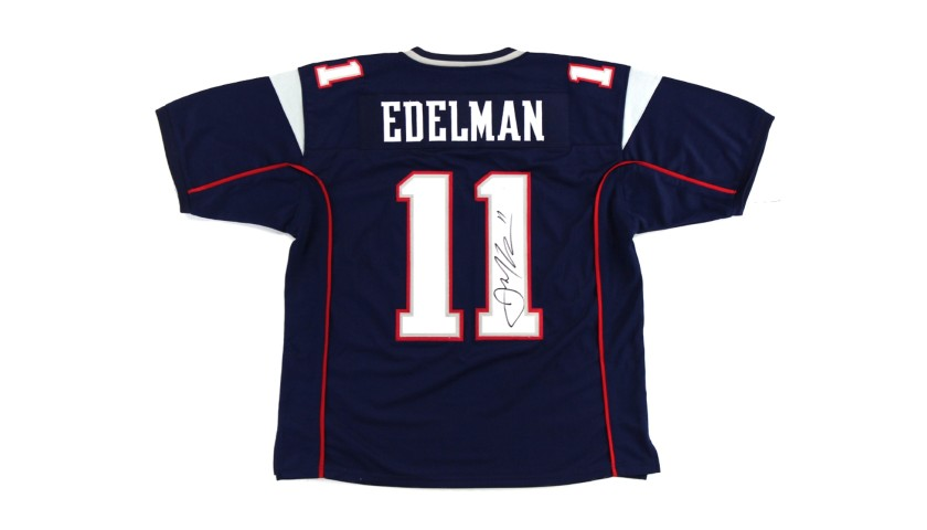 Julian Edelman New England Patriots Hand Signed Jersey