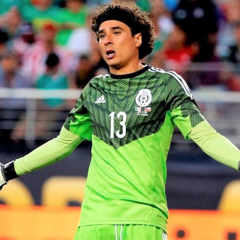 Ochoa's Mexico Match Shirt, Copa America 2016