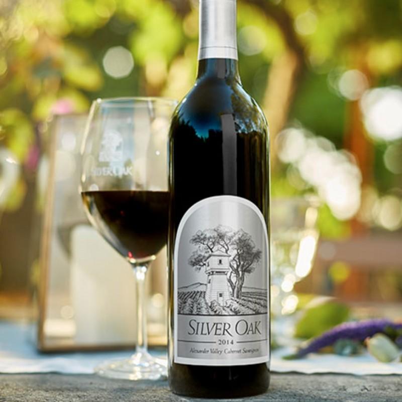 2014 Silver Oak Alexander Valley Cabernet Sauvignon 6.0 Liter, Signed by Winemaker Nate Weis