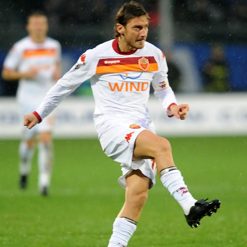 Maglia Ufficiale Totti Roma, 2009/10 - Autografata