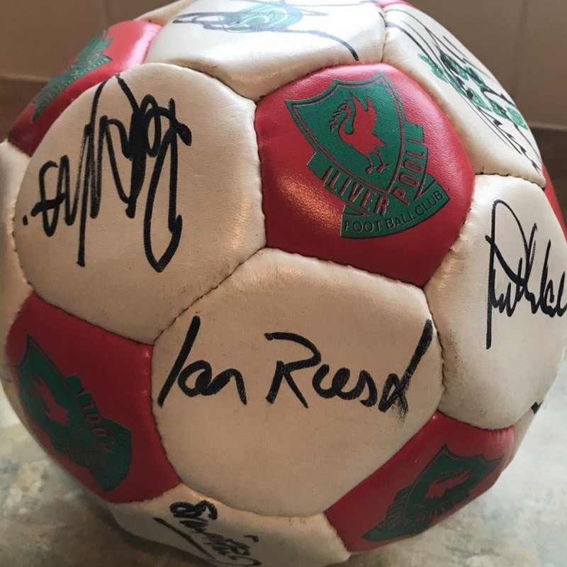Liverpool Legends Signed Football