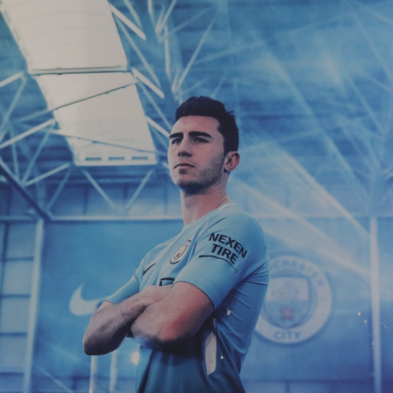 Manchester City's Aymeric Laporte Unique Picture