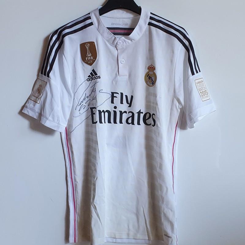 Carlos' Real Madrid Match Worn Signed Shirt