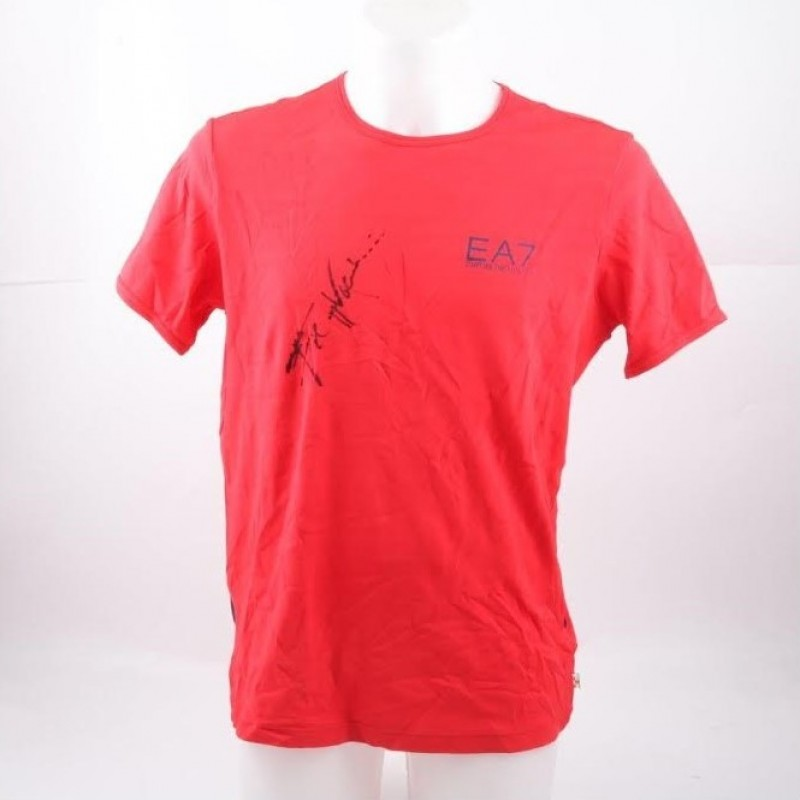 Tennis Shirt Signed by Italian Champion Filippo Volandri