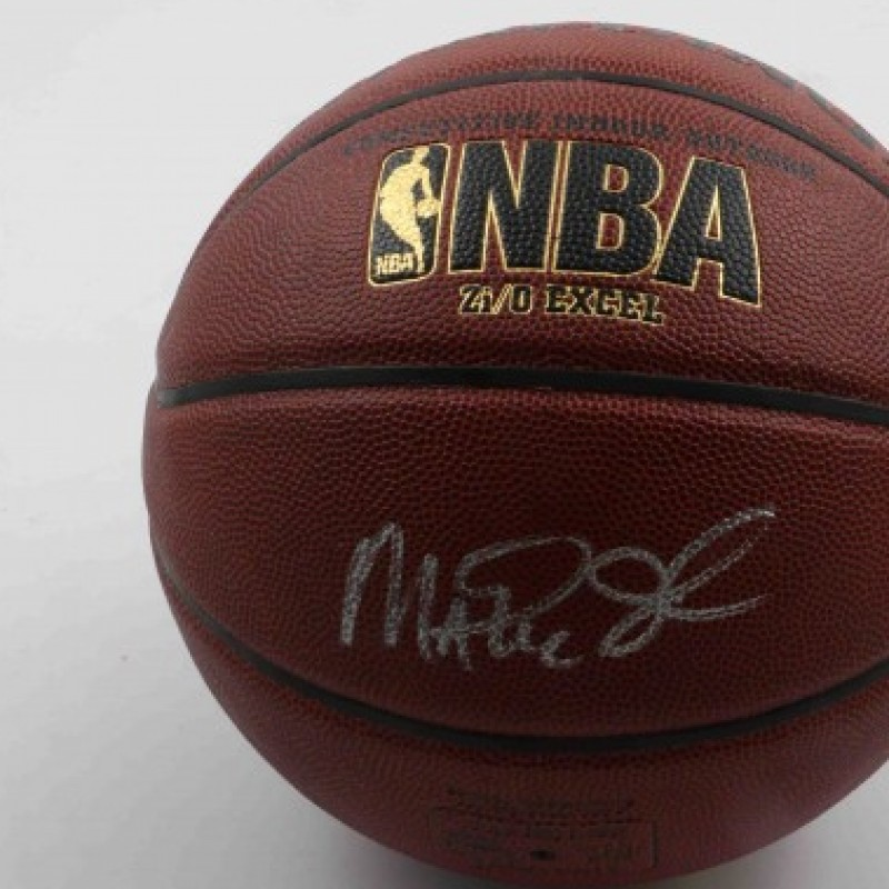 Official NBA Basketball Signed by Magic Johnson