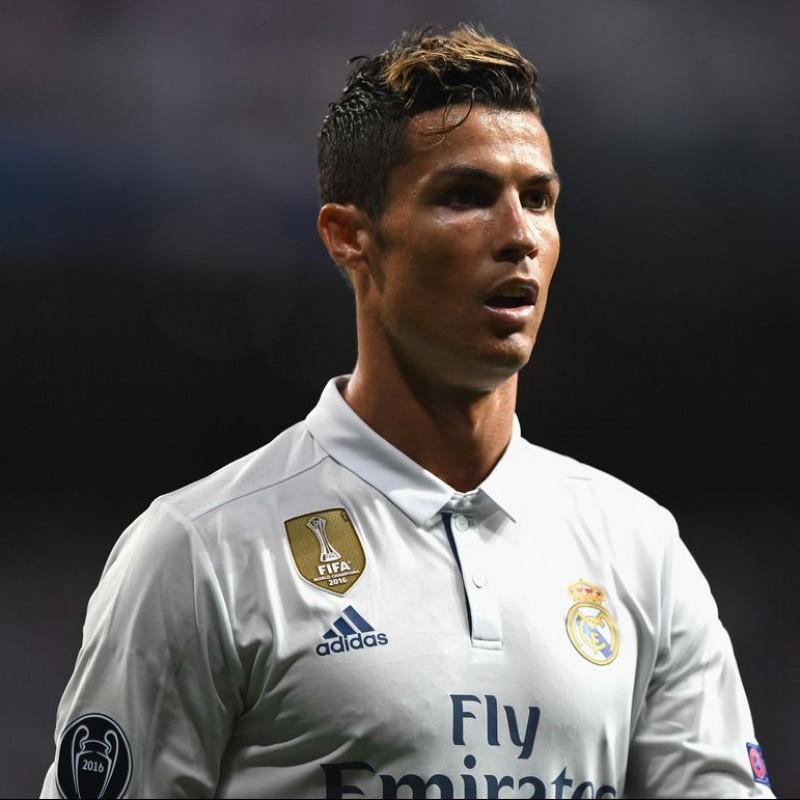 Ronaldo's Real Madrid Match Shirt,  UCL 2016/17
